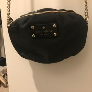 Kate spade nylon/gold purse